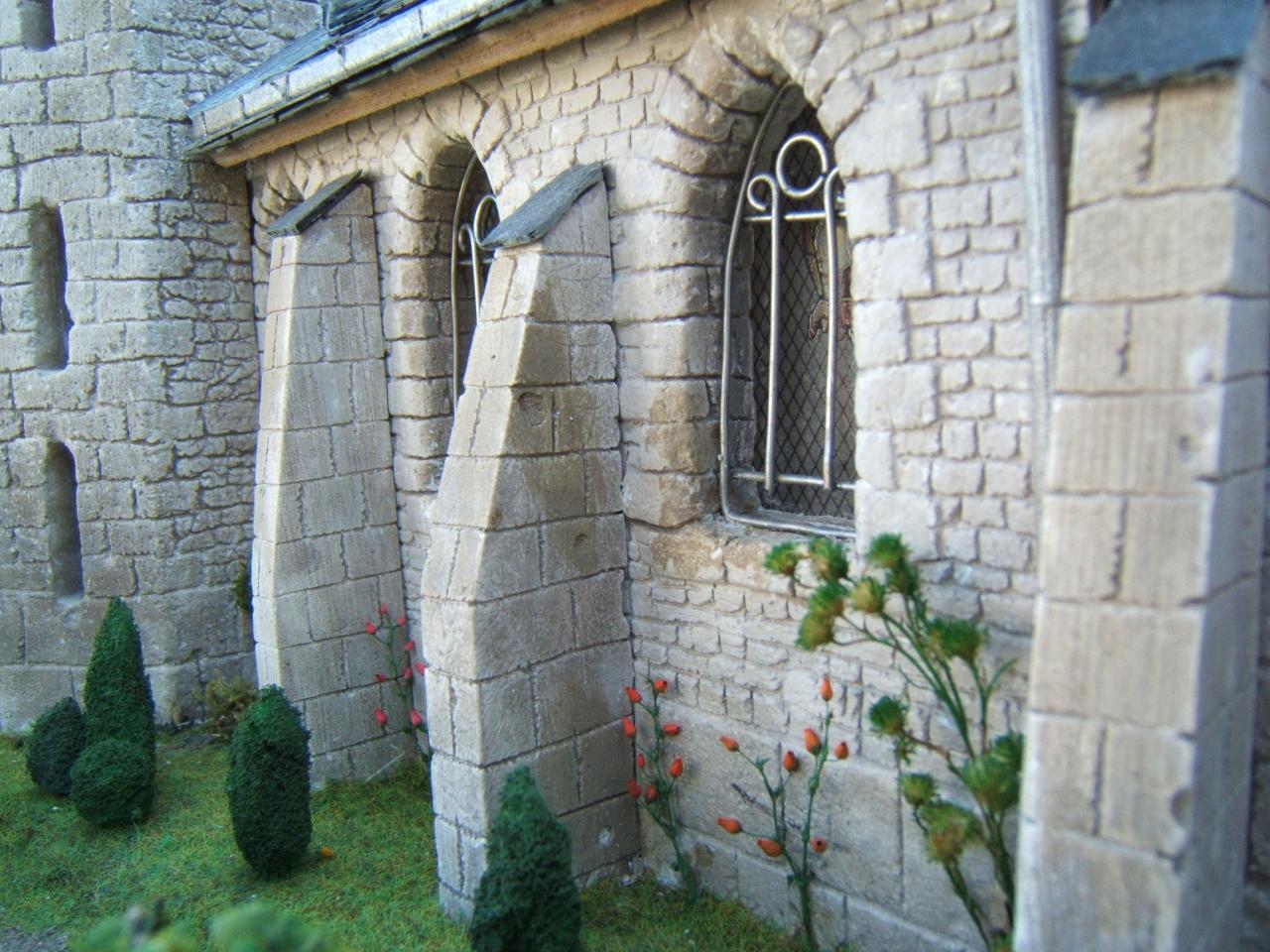 Le jardin de l'église