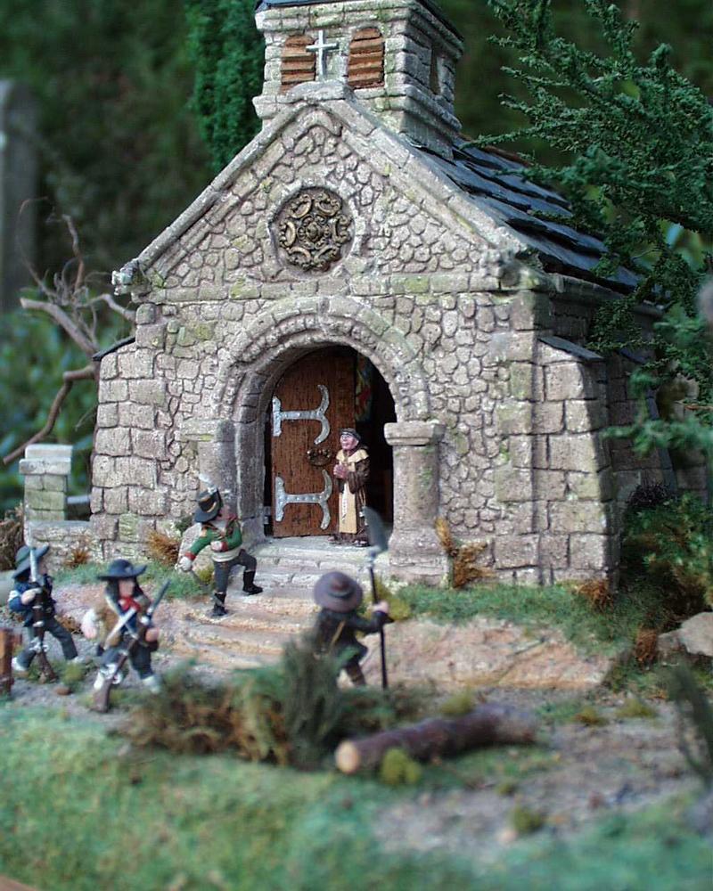 Entrée chapelle