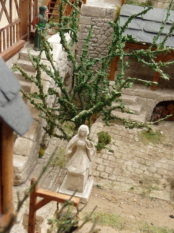 La statue d'anne de Bretagne