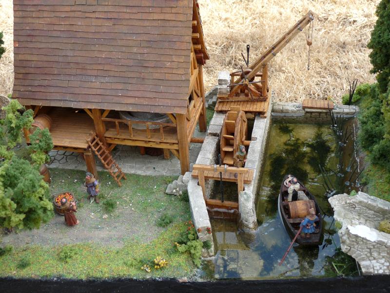 Le moulin terminé