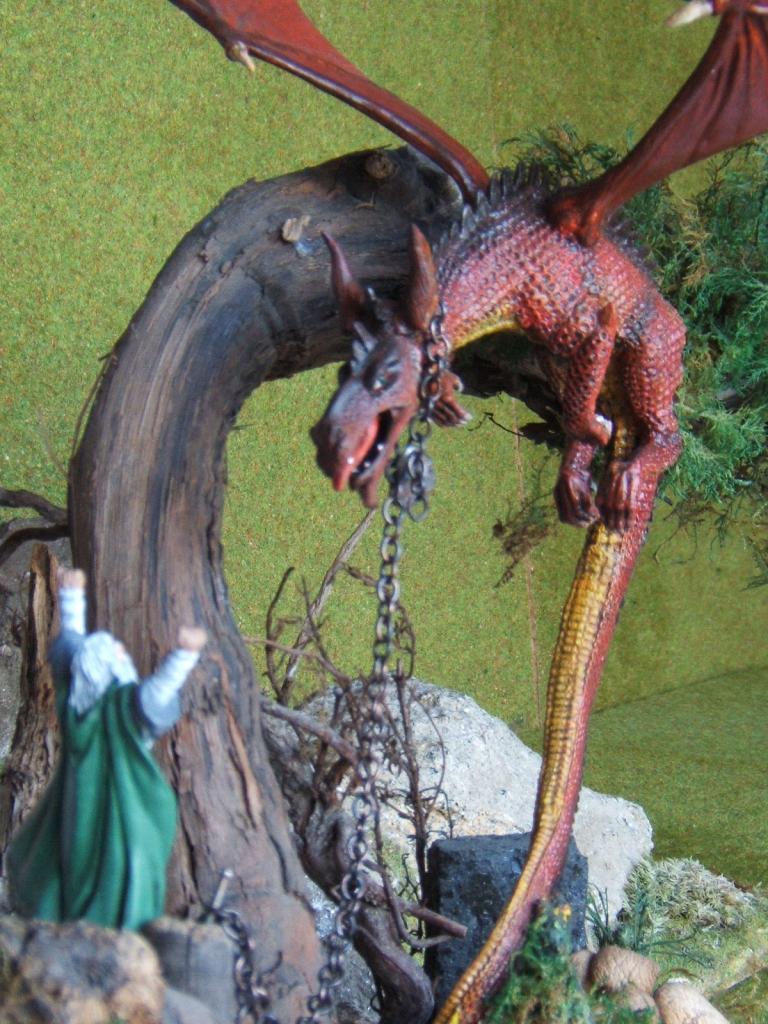 Smaug et Saruman